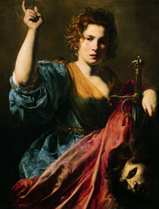 Valentin de Boulogne, Judith with the Head of Holofernes, c. 1625/28, © Musée des Augustins, Toulouse
