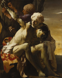 Hendrick ter Brugghen, St Sebastian Tended by Irene, 1625, © Allen Memorial Art Museum, Oberlin College, R. T. Miller, Jr. Fund, Oberlin, Ohio