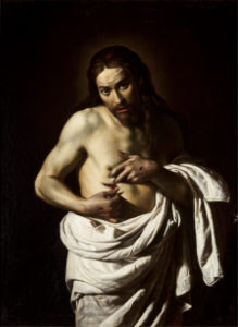 Giovanni Antonio, Galli, gen. Lo Spadarino, Christus zeigt seine Wunden, um 1625/35, © Perth and Kinross Council Scotland, Perth Museum and Art Gallery