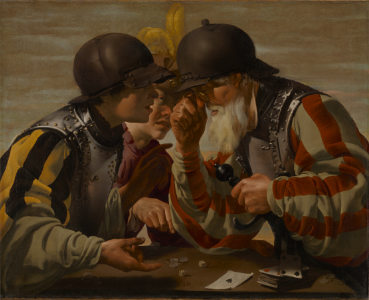 Hendrick ter Brugghen, Die Spieler, 1623, Minneapolis, © Minneapolis Institute of Art, The William Hood Dunwoody Fund